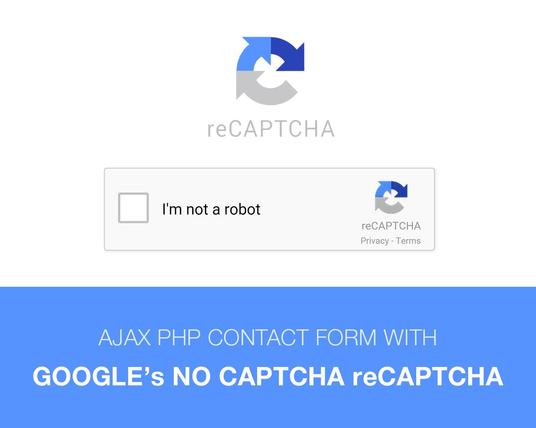 I will Add Google's Captcha Form Verification To Your Site