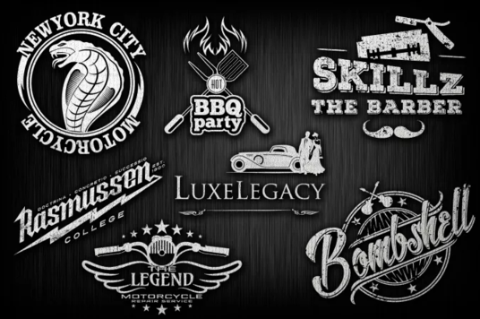 I will Design Badge, Retro, Hipster And Vintage Logo In 12 Hours