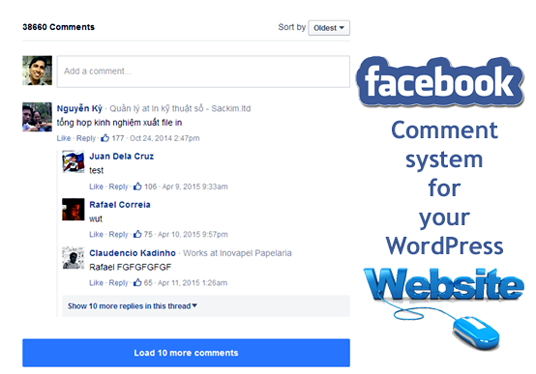 add Facebook Comment system in WordPress to engage more audience