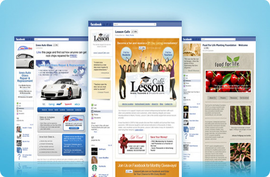I will Create and Design your facebook fan page