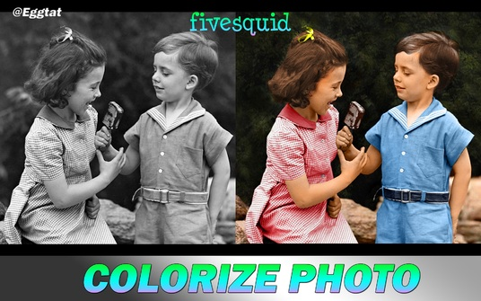 I will Restore  / Colorise Old Faded Photo