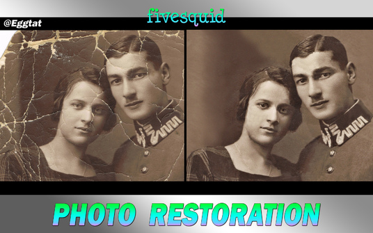I will Restore, Repair and Fix Old Damaged Photo