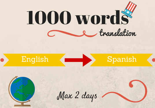 I will translate any specialized terminology from English into Spanish