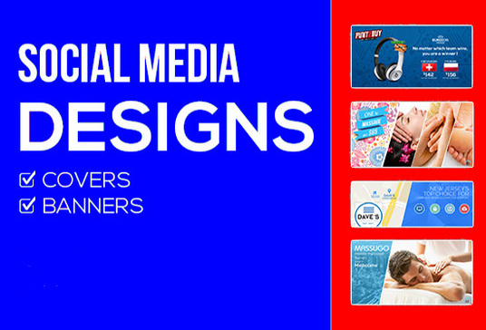 I will Create and Design a Professional Social Media Banner