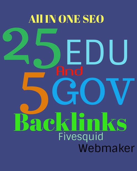 I will provide all in one EDU and GOV link building service