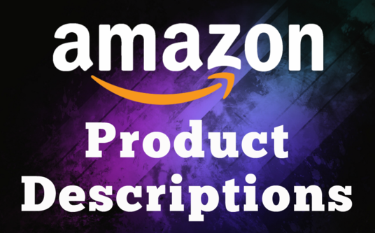 I will Write Amazon Product Descriptions with SEO