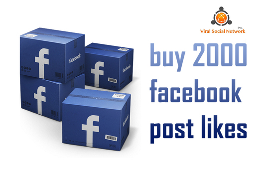 I will add 2000 Likes to your Photo or Post on Facebook