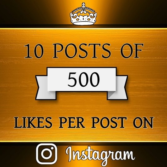I will give you likes on 10 instagram posts