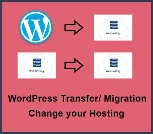 I will do WordPress transfer, WordPress migration