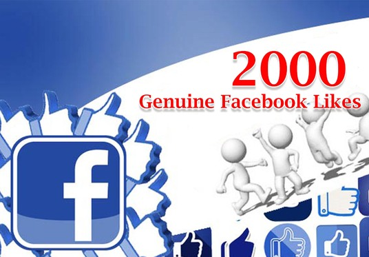 I will add 2000 GENUINE Facebook Likes for your Fan Page