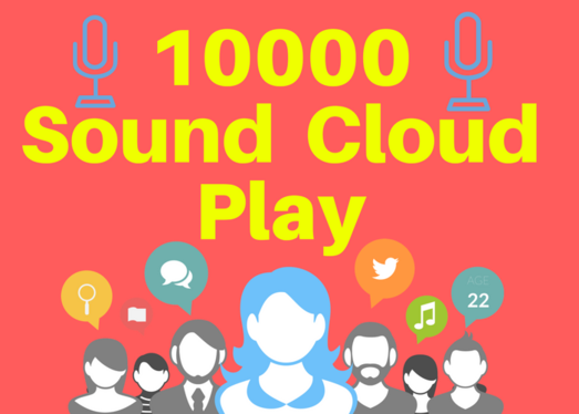 Get you 10000 sound cloud PLAY