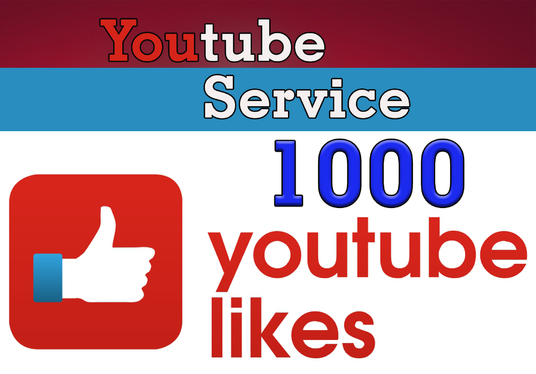 I will add 1000  High Quality YOUTUBE Likes  for your Video