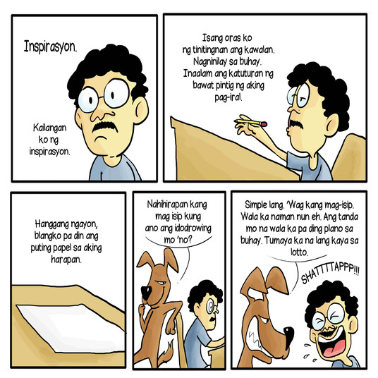 I will illustrate your comic strip