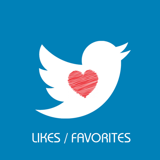 I will add 100+ Twitter Likes and Favorites
