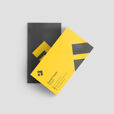 design a Clean and Professional business card