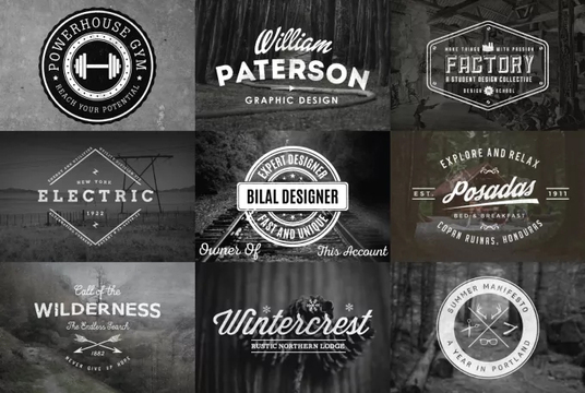 design the best professional 5 SIGNATURE text logo