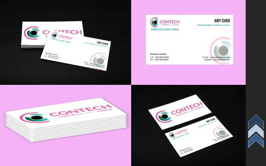 Make A Custom Business Card In Photoshop For 5 Arif619 Fivesquid