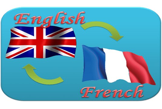 I will translate French in English and vice versa