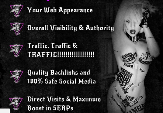 Give You The Lady Gaga Google Rider SEO Package: Social Shares, High DA,  First Page Google