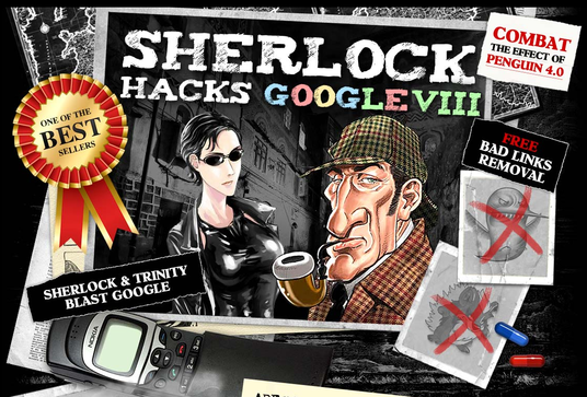 Give You The Sherlock V9 SEO Package: 46 Types Premium Links, The Lion VIII, First Page Google