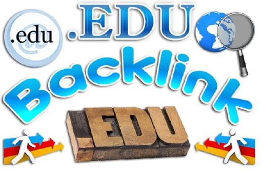 Give You 15 EDU High PR Links in 48 Hours