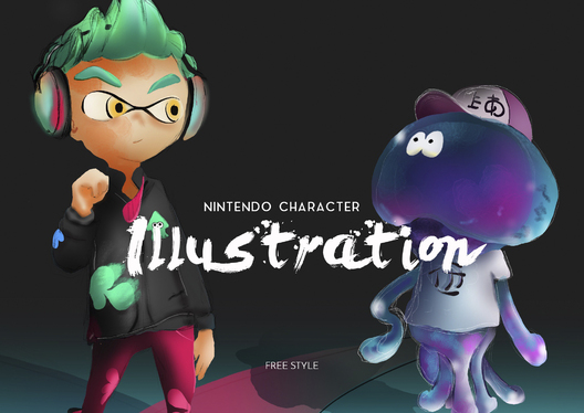 Create  illustration Anime character