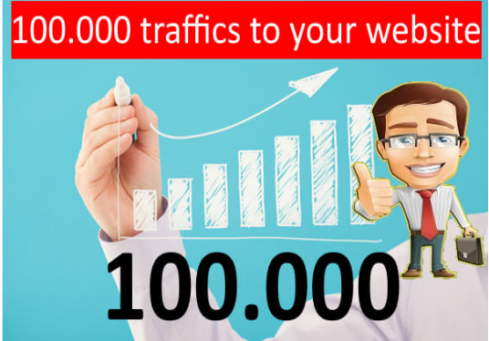 I will Provide Targeted 100,000 Traffic To Your Website