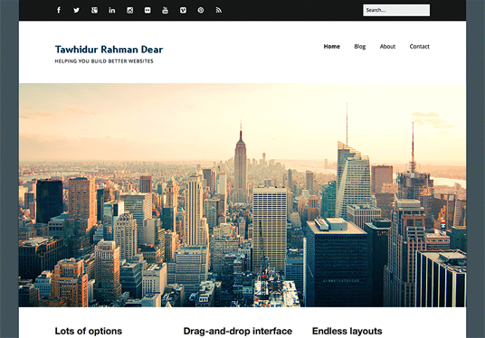 design a Corporate-look website for small business