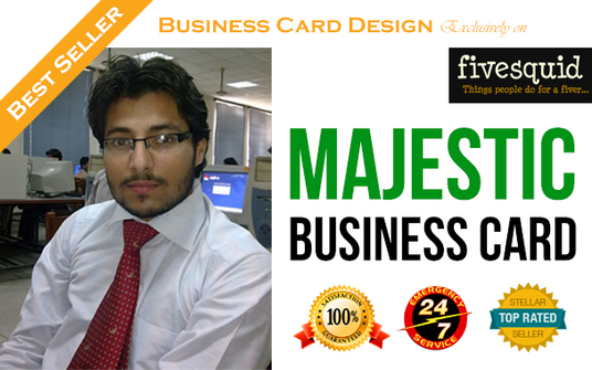 I will design a Majestic and head turning Business Card