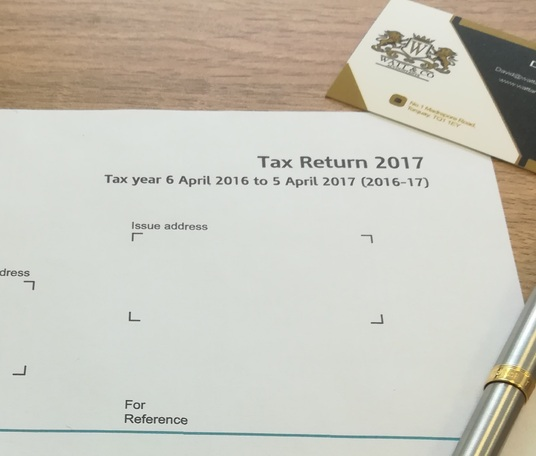 I will prepare & submit your 2016/17 personal tax return for just