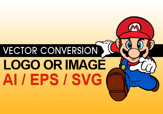 I will convert logo or image to vector illustrator