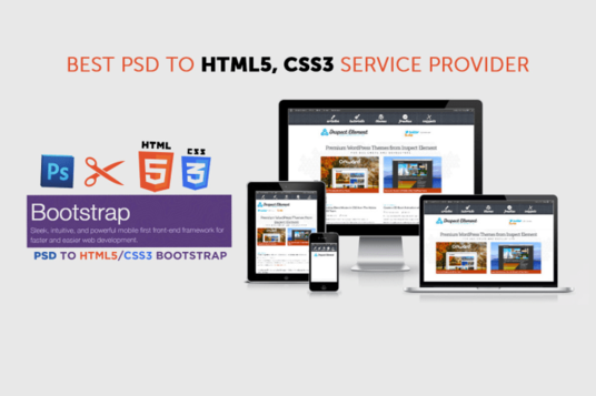 I will convert your PSD to Responsive Webpage using BootStrap