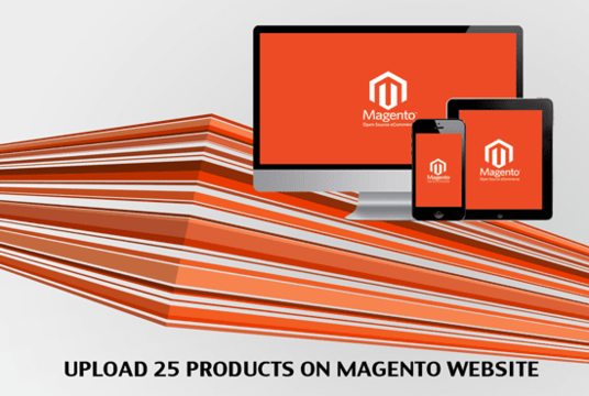 I will  add Products to your Magento store