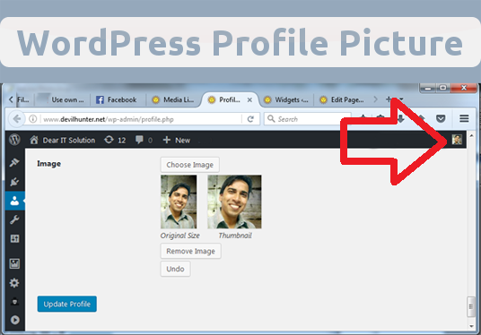 I will Help you use own photo in WordPress profile (no Gravatar anymore!)