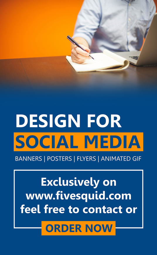 I will design for your social media