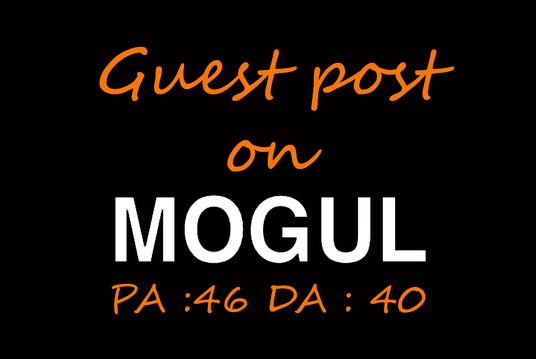 I will Write and Publish Guest Post on OnMogul.com (DA 40 , DOFOLLOW)