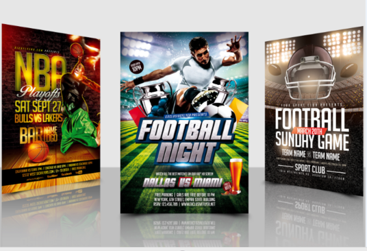 I will Design Any Sports Flyer In 24 Hours
