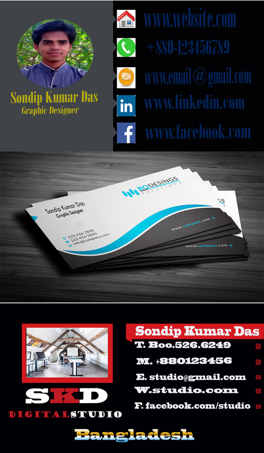 I will design your Business card