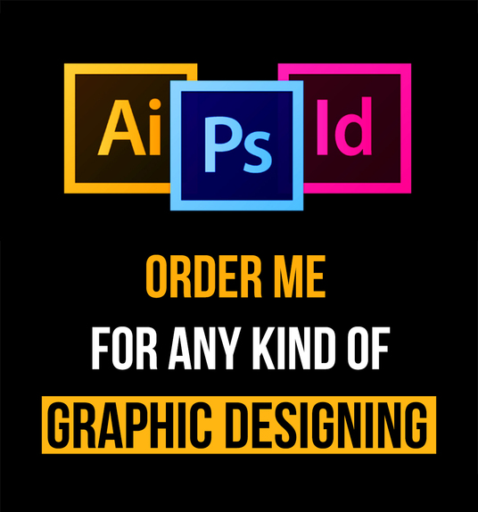 I will do any graphic designing job super fast