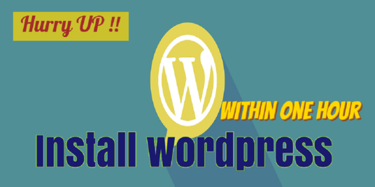 I will Install Wordpress For You