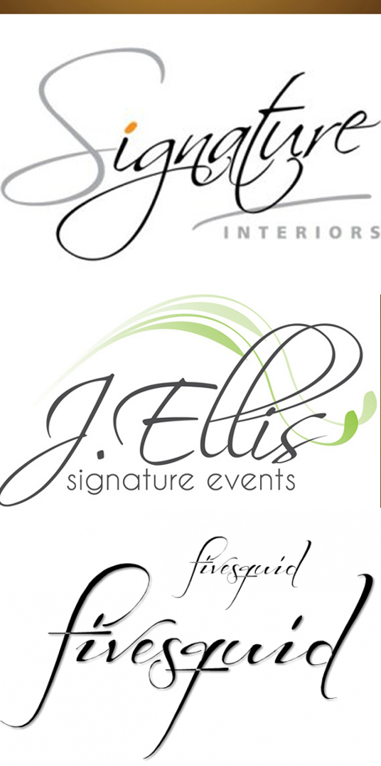 I will design unique SIGNATURE logo