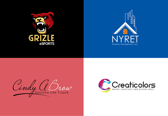 I will design two elegant and unique logo concepts for your business, brand or website