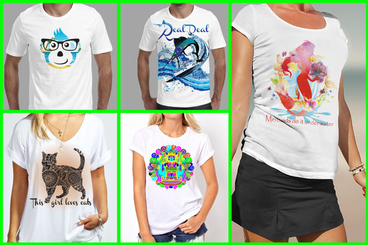 create custom T shirt design