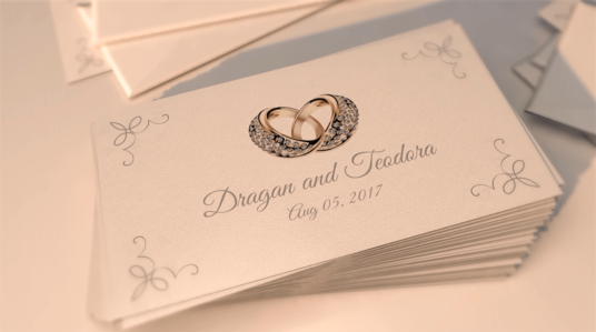 I will make  Wedding Story Cards