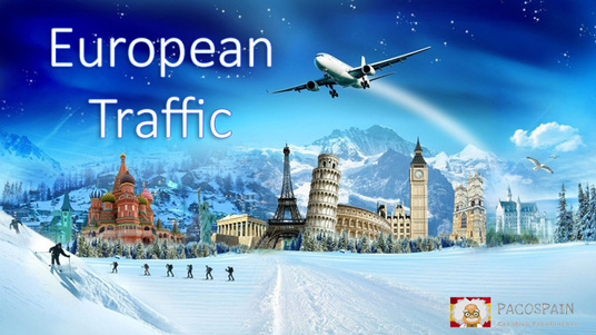 provide 15,000 European Website Traffic