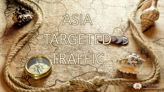 provide 1500 ASIA TARGETED Human traffic to your web or blog site
