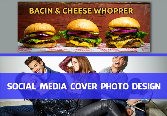 I will design social media cover photo and ads