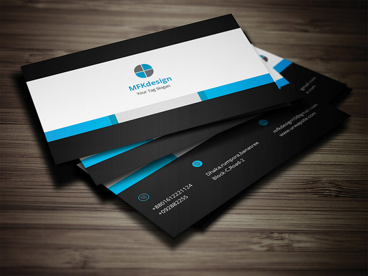I will Design OUTSTANDING 2sided business card and pro business card