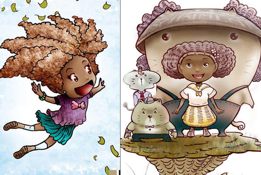 I will do children book illustration in this style