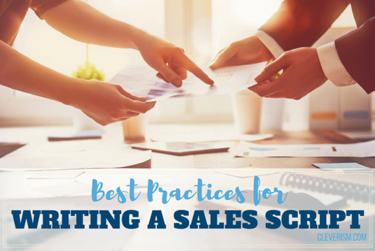 I will Create a personalised sales script or sales pitch for your business, product or service